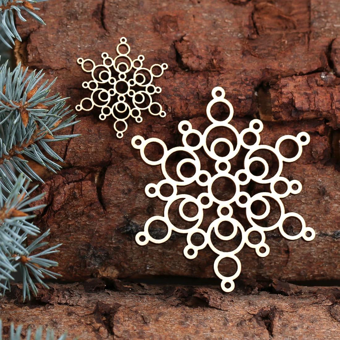 baumschmuck 2er sets weihnachtssterne sterne baumbehang deko aus holz f r weihnachten. Black Bedroom Furniture Sets. Home Design Ideas