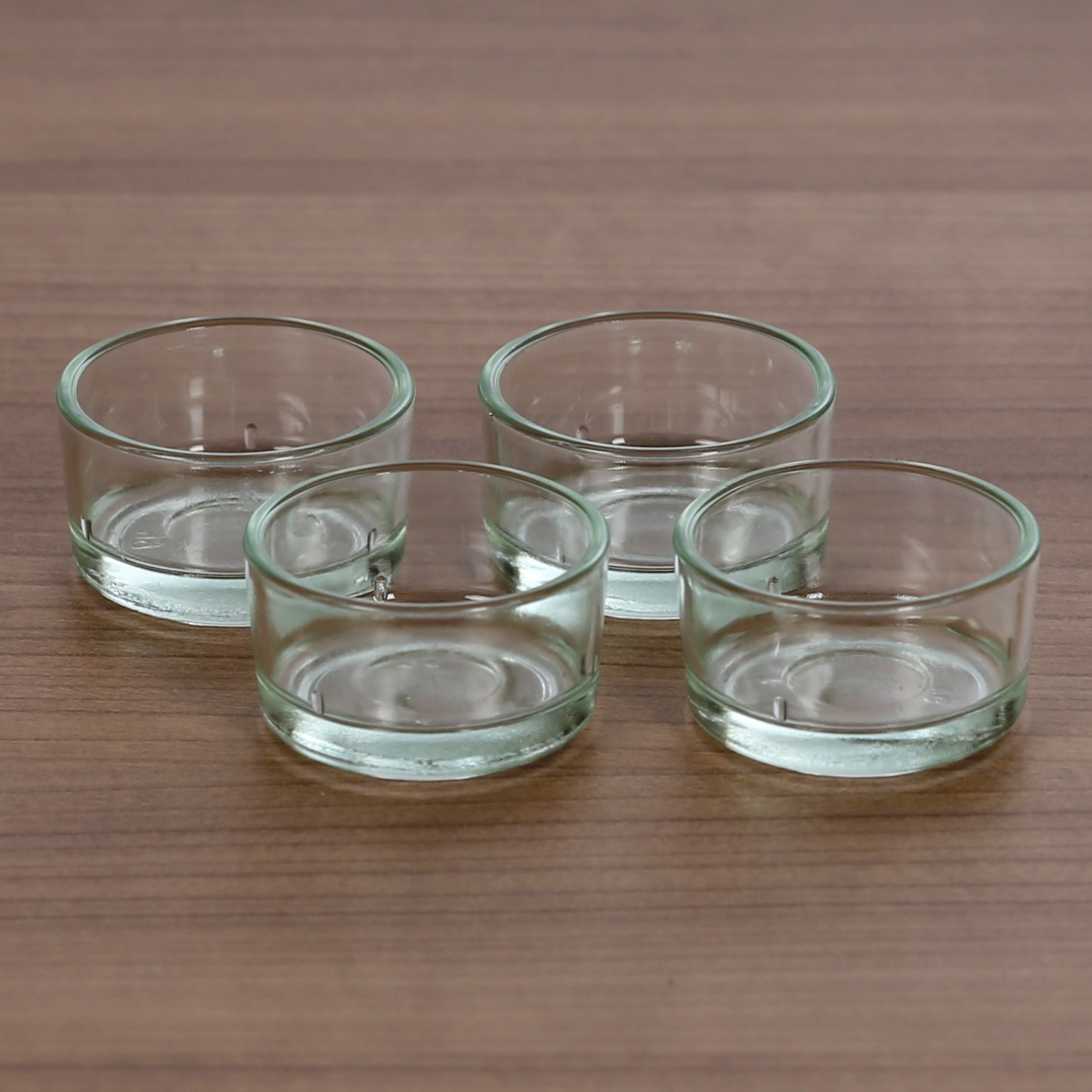 tealight holder cups 40mm glass tea light for standard candles ebay. Black Bedroom Furniture Sets. Home Design Ideas